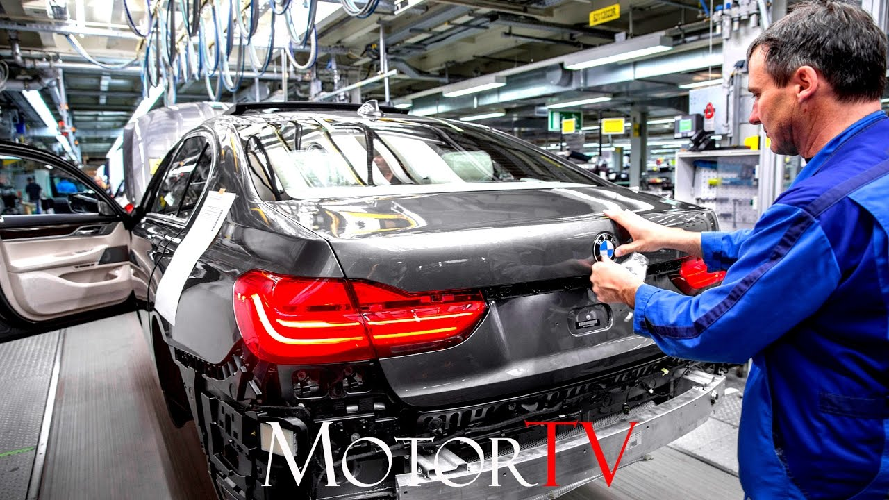 CAR FACTORY NEW 2017 BMW 7 SERIES PRODUCTION L Plant