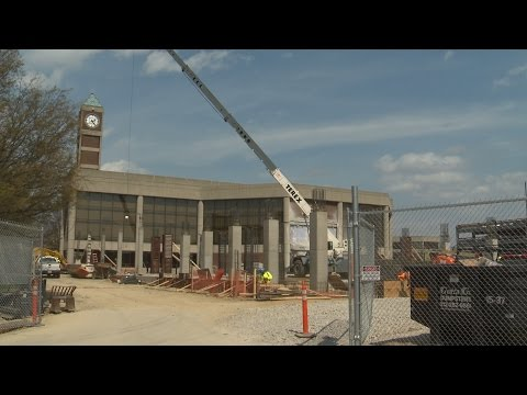 UofL Campus Construction
