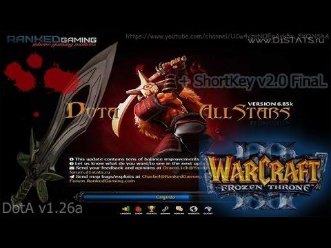 Descargar Warcraft III Frozen Throne DOTA V126aIngles