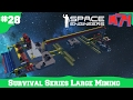 Space Engineers Survival Series:New Large Miner Ship[S1E28]