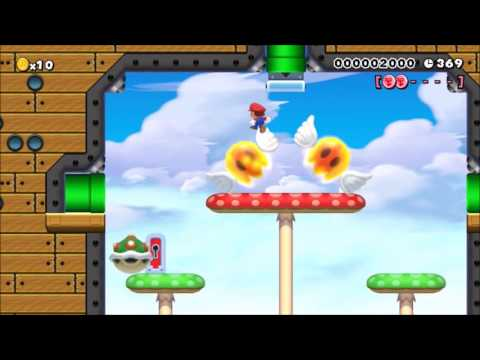 HARDEST AIRSHIP LEVEL ON SMM!!!: Beating Super Mario Maker's Hardest Levels!
