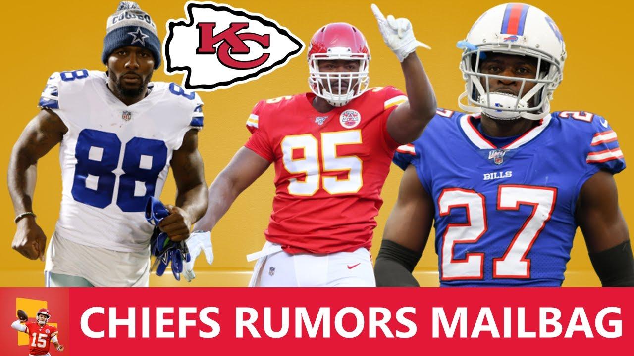 Chiefs Rumors: Chris Jones Trade For Tre'Davious White? Sign Dez Bryant? Draft Jaylen Waddle? | Q&A