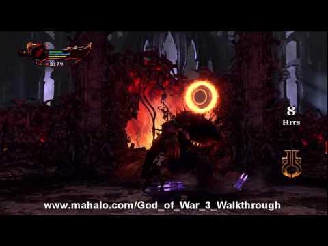 God of War III Walkthrough - Hades Boss Fight HD