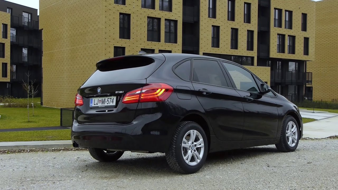 2015 bmw 218i active tourer sport line test youtube. Black Bedroom Furniture Sets. Home Design Ideas