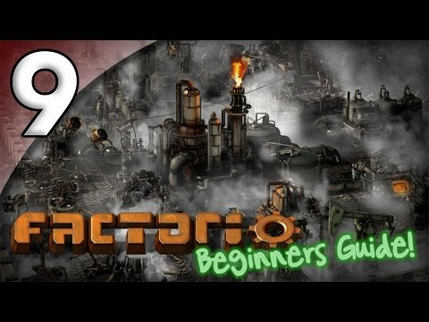 Factorio Beginner's Guide - 9. Drilling for Oil - Let's Play Factorio Gameplay