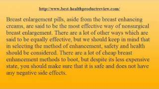 Breast Actives Breast Enlargement Pills Review
