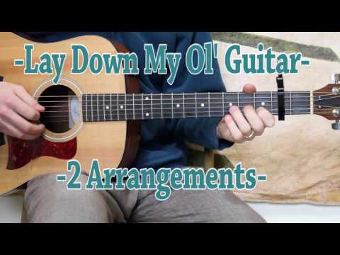 Lay Down My Ol' Guitar - Guitar Lesson - Norman Blake and Doc Watson Style