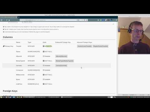 SQL Schema Explorer demo 30th Oct 2018