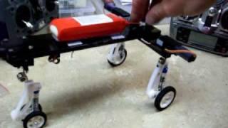 Vigilante R/C Suspension with E-flite Electric Retracts Prototype EFLG110