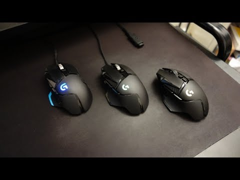 09b30f5c7f1 Logitech G502 Lightspeed wireless review - Comparison with G502 and ...
