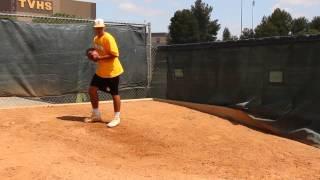 Isaiah Moten 2015 bullpen on 5-10-14