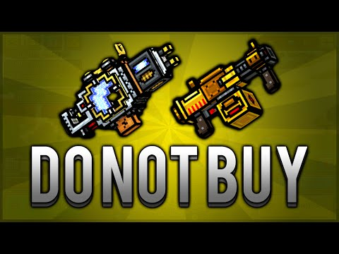 Pixel Gun 3D - WORST GUNS IN NEW UPDATE (BEWARE DO NOT BUY)