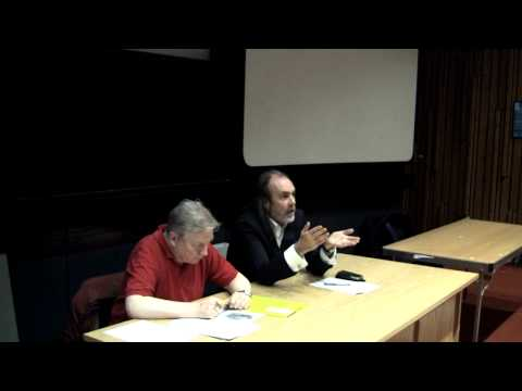 John Waters answering audience questions at NUIG Atheist Humanist Society