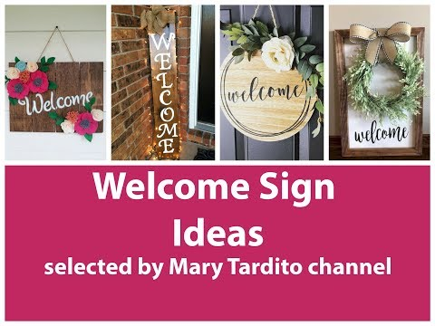 welcome-signs-ideas---crafts-ideas-to-make-and-sell---diy-home-decor-inspo