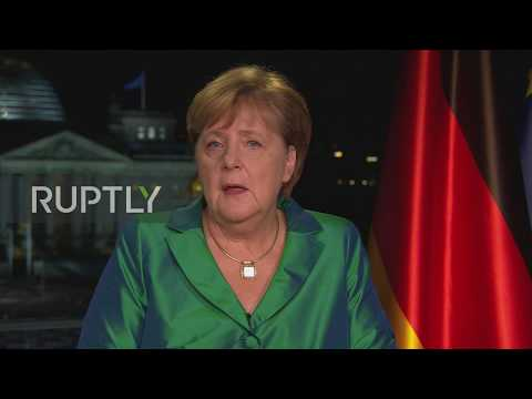 "Germany: Merkel urges action on ""threatening"" climate crisis in New Year message"