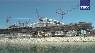 Установка арок Крымского моста пройдет с минимальным ограничением судоходства