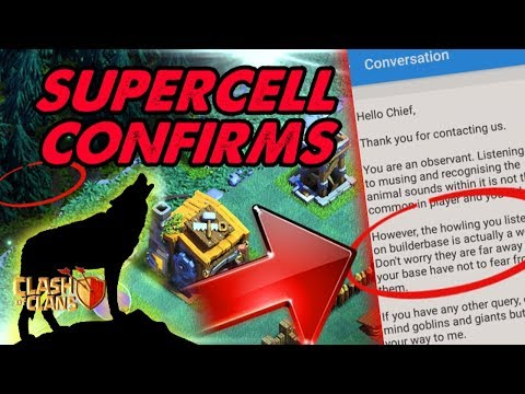 Supercell CONFIRMS COYOTE in Clash Of Clans | New HIDDEN Update LEAKED 2018 WOLF Hidden Easter Egg