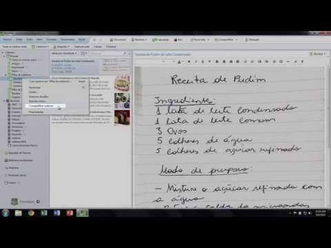 Como compartilhar um caderno - desktop