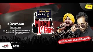 Dangal Title track Daler mehendi Live at Gurgaon