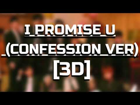 Free Download [3d Audio] Wanna One (워너원) - I Promise You (confession Ver.) (약속해요 (고백 Ver.)) Mp3 dan Mp4