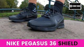 Proporcional Araña de tela en embudo usuario  Nike Zoom Pegasus 36 Shield - YouTube