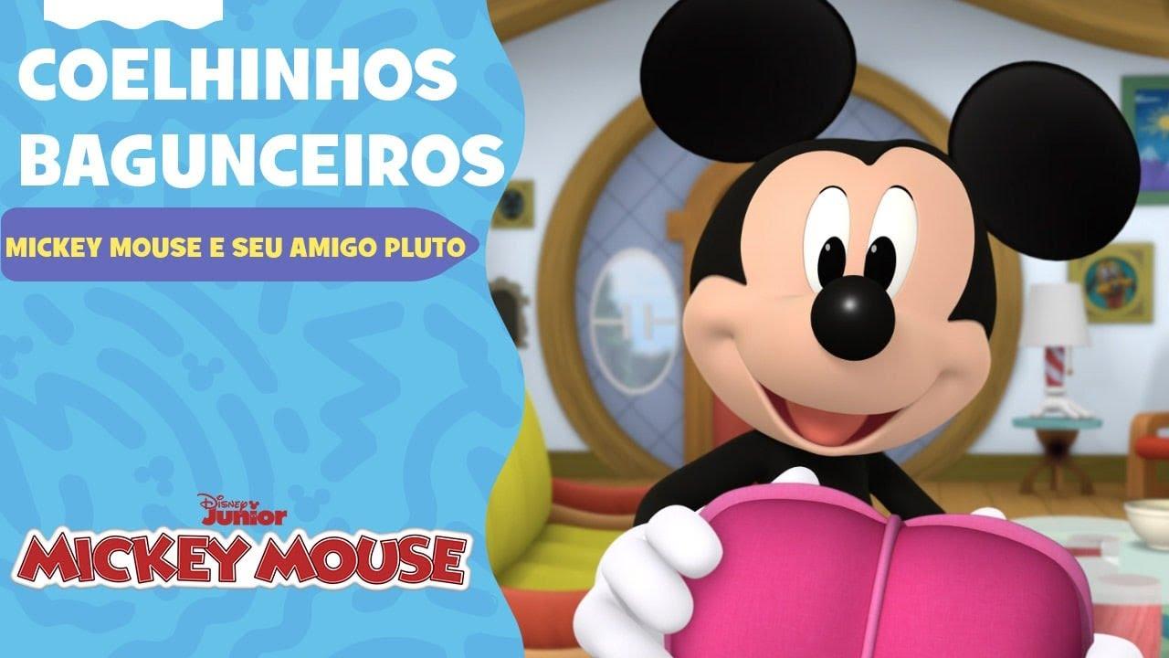 Mickey Mouse e Seu Amigo Pluto | Coelhinhos bagunceiros