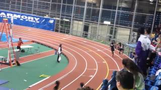 300 meter Girls Sec 1 NY State Qualifiers, 2/19/14