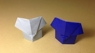 How to Make a Paper Animals / Origami Elephant / Easy for Children
