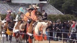 平成27年11月29日に開催された彦根城流鏑馬です。 井伊直弼公生誕200年...