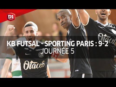 J5 : Kremlin Bicêtre - Sporting Paris (9-2), le résumé