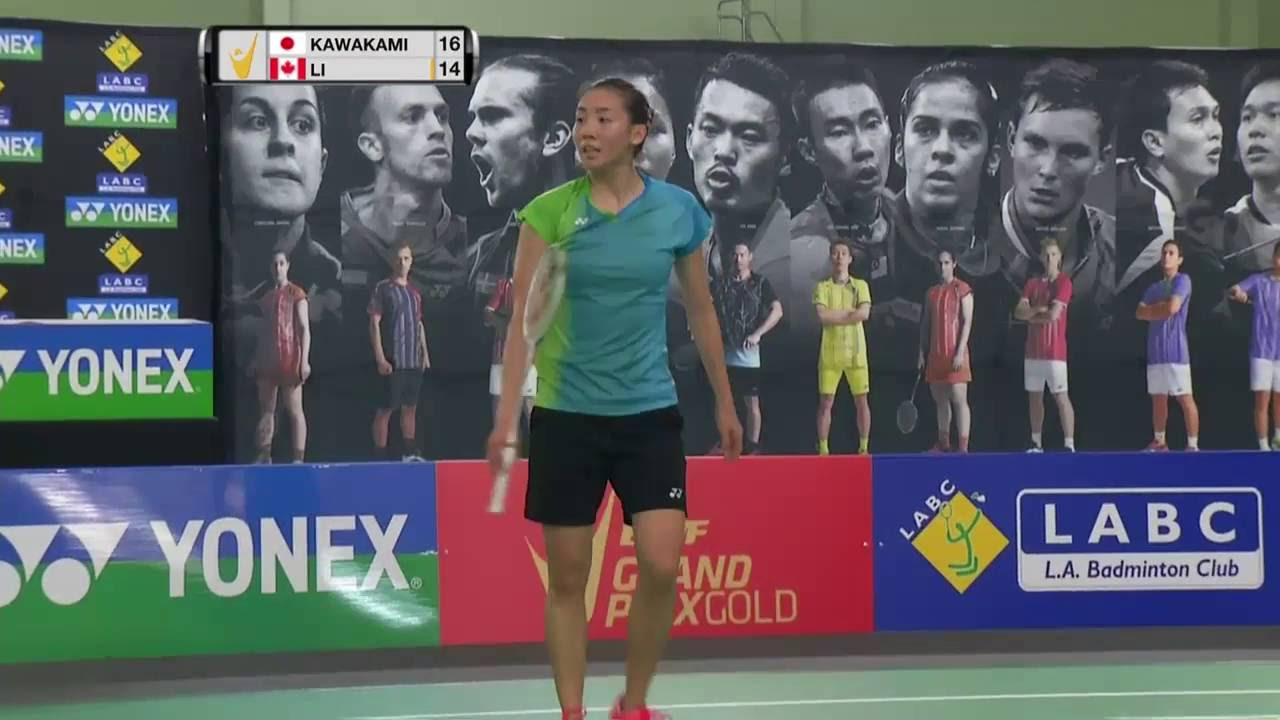 Yonex US Open 2016 Badminton SF M4 WS