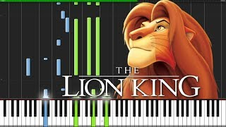 This Land - The Lion King [Piano Tutorial] (Synthesia) // Wouter van Wijhe