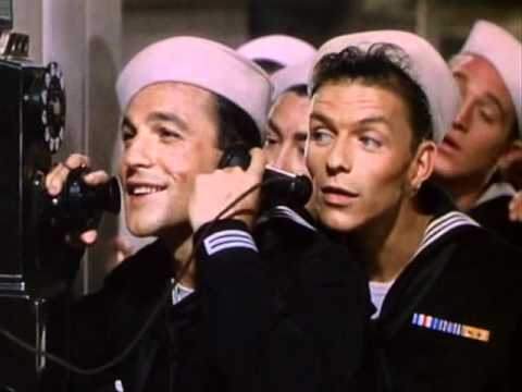 Anchors Aweigh Phone scene - Gene Kelly Frank Sinatra funny video
