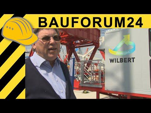 Wilbert Wippkran 2405 Etronic - Vorstellung von Franz-Rudolf Wilbert  bauma 2010 Report