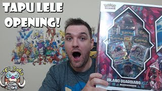Island Guardians GX premium Collection! (SOLD OUT Tapu Lele Pokemon Opening!)