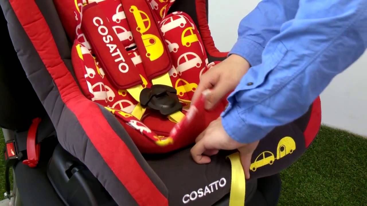 Cosatto Moova Group 1 Car Seat By Mama Kids Junction - YouTube