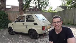 I bought a Fiat 126! See why it's one of the coolest cars ever...