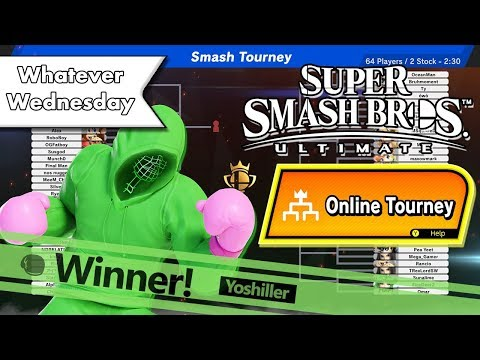 Super Smash Bros. Ultimate - Winning An Online Tourney!