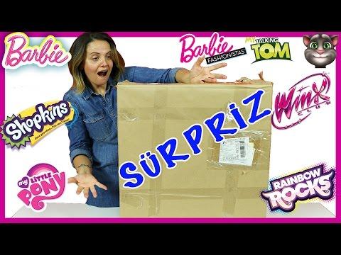 Barbie Fashionistas My Little Pony Shopkins Talking Tom | Dev Sürpriz Oyuncak Kutusu 12 | EvcilikTV