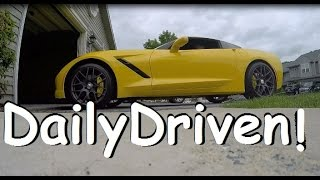 Why you should drive a 2015 Corvette Stingray EVERY DAY! +POV Vlog