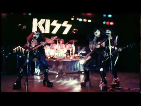 KISS ALIVE Promo Clip - C'mon And Love Me and Rock And Roll All Nite - 1975