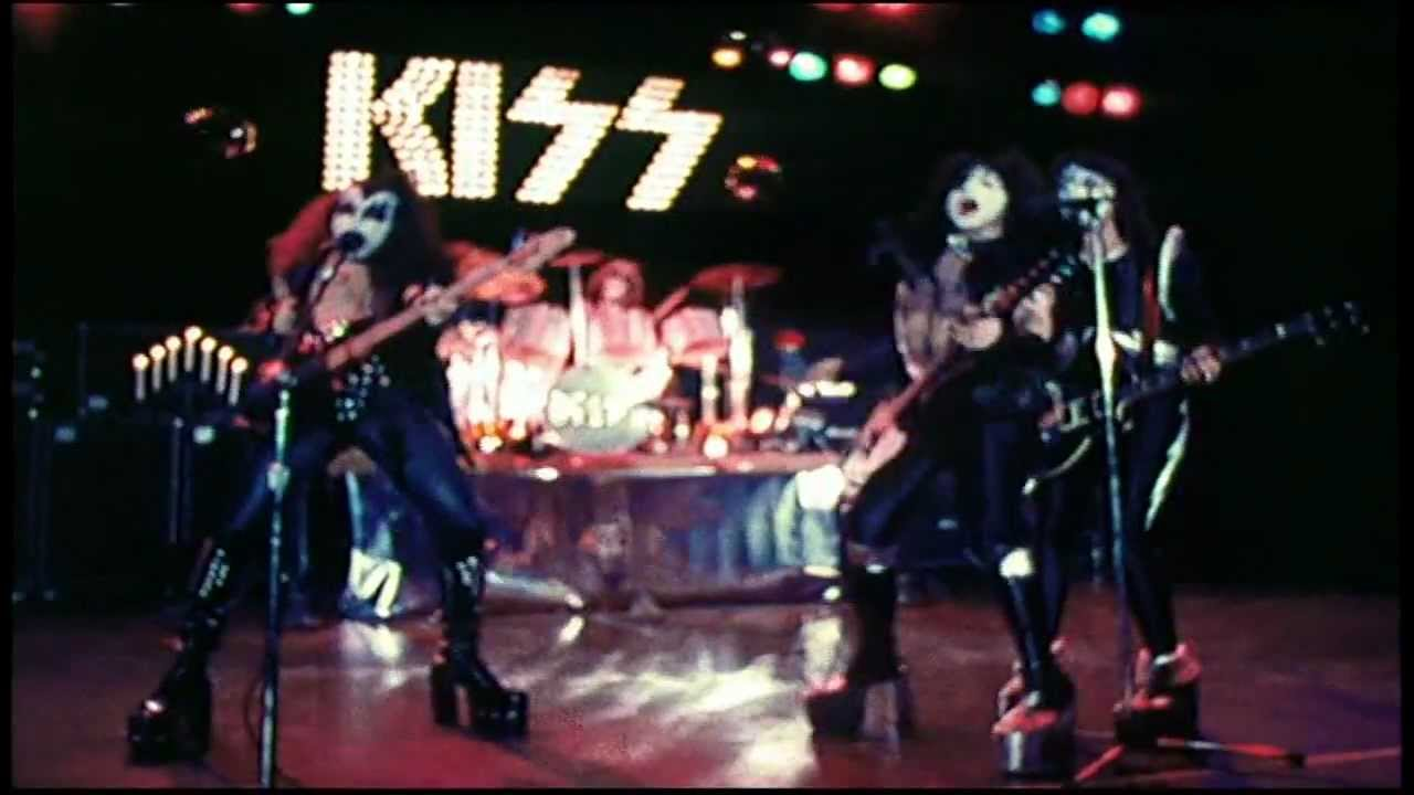 Kiss Alive Promo Clip C Mon And Love Me And Rock And