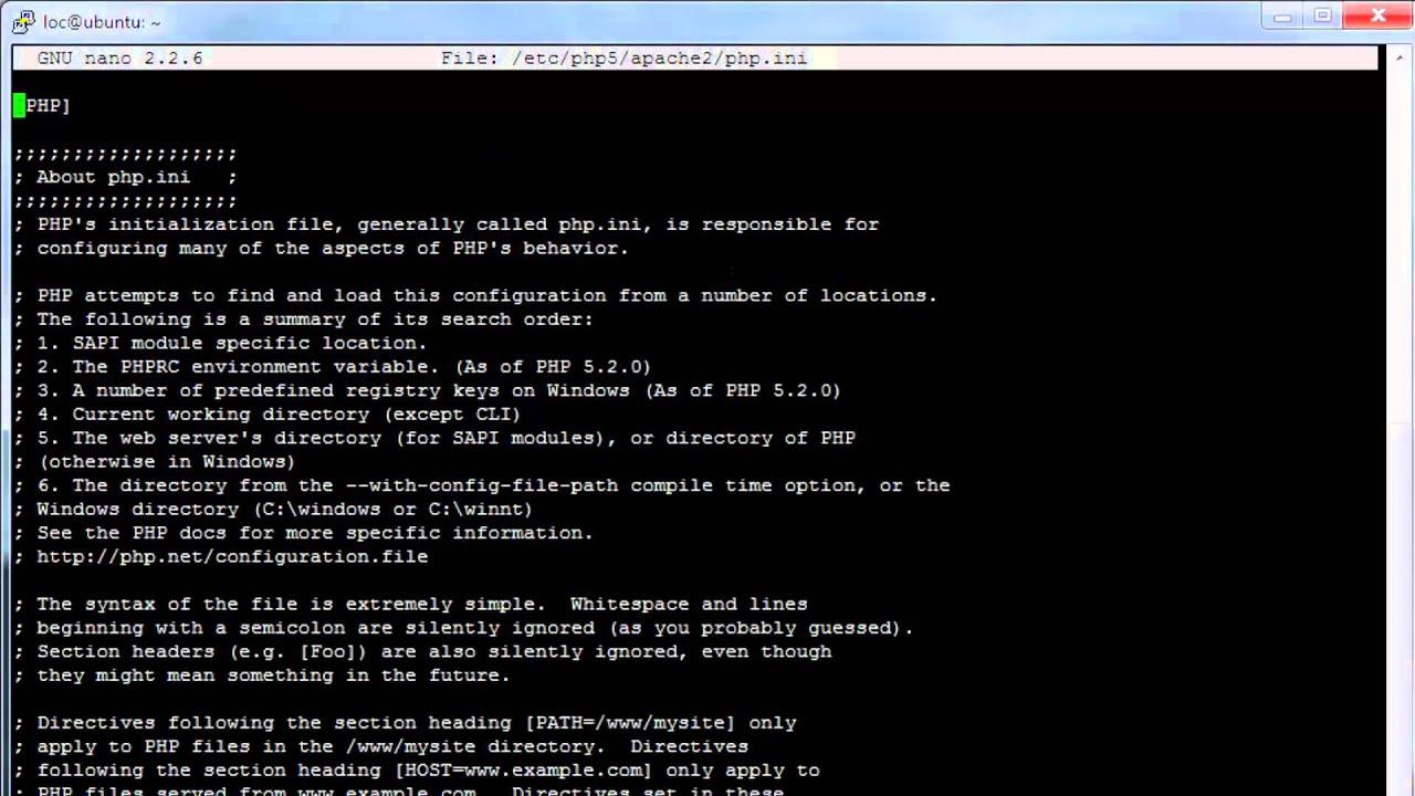 OwnCloud change upload limit Ubuntu server apache