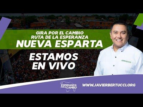 Contra viento y Marea Bertucci en Margarita - Gira por El Cambio #1SemanaParaElCAMBIO