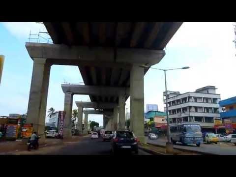 Kochi Metro Rail Work in Progress