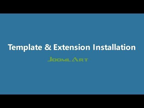 Joomla 3 Video Tutorials - Joomla Template And Extension Installation
