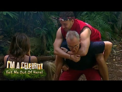 Larry's Jungle Gym   I'm A Celebrity...Get Me Out Of Here!