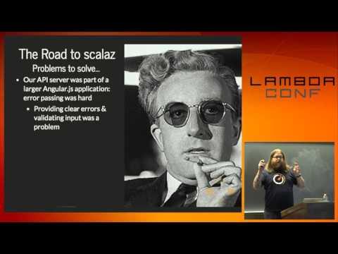 LambdaConf 2015 - A Skeptic's Look at Scalaz Gateway Drugs  Brendan McAdams