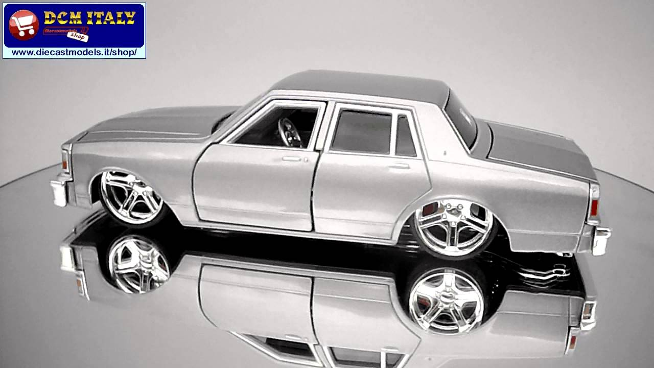 Ss Monte Carlo >> Chevrolet Caprice (1987) - Maisto - 1/24 - YouTube
