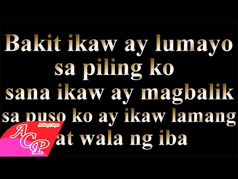 A1 - Walking In The Rain (Tagalog Version) By: Anthony Peyra